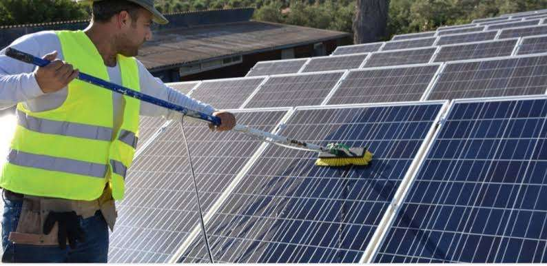 solar cleaning